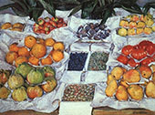 Still Life c1880 By Gustave Caillebotte