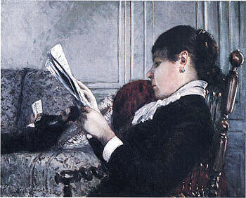 Interior 1880 By Gustave Caillebotte