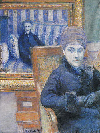 Portrait of Madame X By Gustave Caillebotte - Oil Paintings & Art Reproductions - Reproduction Gallery