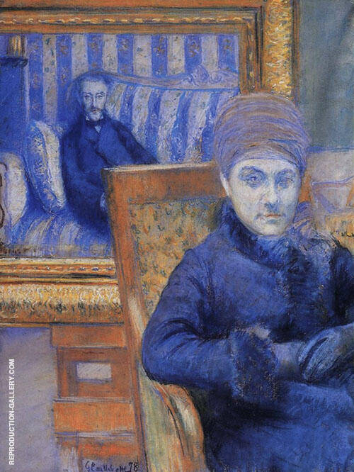 Portrait of Madame X By Gustave Caillebotte