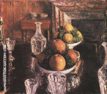 Still Life 1879 By Gustave Caillebotte - Oil Paintings & Art Reproductions - Reproduction Gallery
