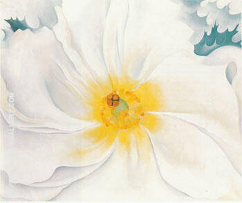 White Flower 1929 Painting By Georgia O'Keeffe - Reproduction Gallery