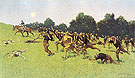 The Charge of the Rough Rider 1898 By Frederic Remington