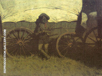 The Sentinel 1907 By Frederic Remington