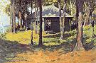 Studio at Ingleneuk 1907 By Frederic Remington