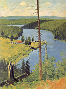 The Moose Country 1909 By Frederic Remington