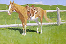 Sorrel Horse Study 1899 By Frederic Remington