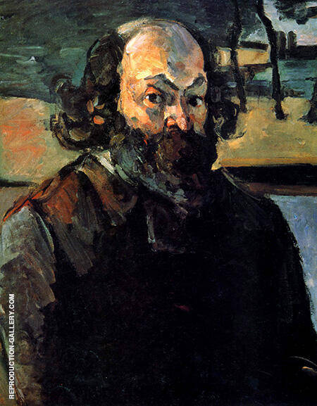 Portrait of the Artist 1873 By Paul Cezanne