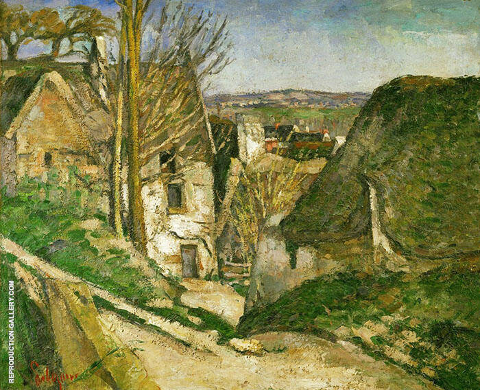The House of the Hanged Man at Auvers By Paul Cezanne