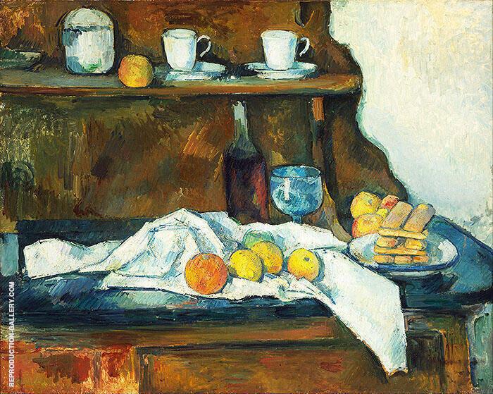 The Buffet 1873 By Paul Cezanne