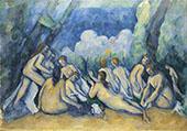 The Large Bathers c1900 (Les Grandes Baigneuses) By Paul Cezanne