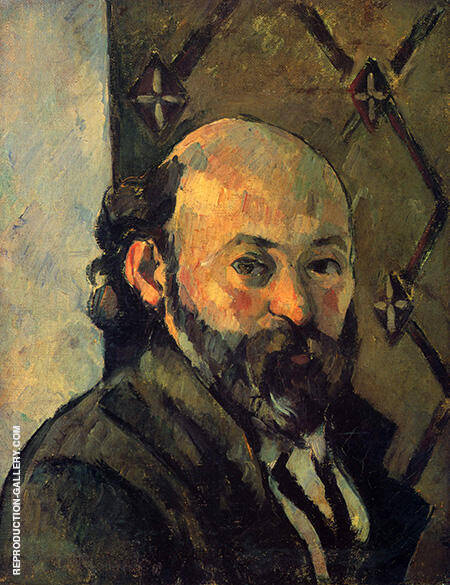 Self Portrait 1879 By Paul Cezanne Replica Paintings on Canvas - Reproduction Gallery