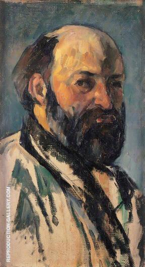Self Portrait 1880 By Paul Cezanne