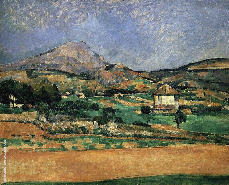 Plain by Mont Sainte Victoire 1882 By Paul Cezanne