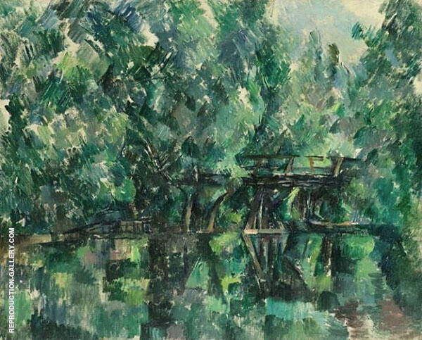 Bridge and Pool By Paul Cezanne
