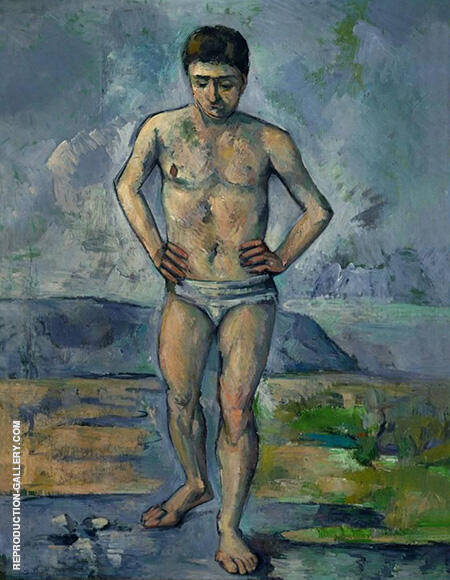 The Great Bather c1885 By Paul Cezanne