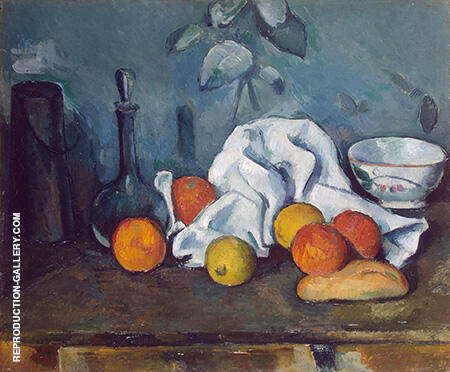 Fruits 1879 Painting By Paul Cezanne - Reproduction Gallery