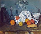 Fruits 1879 By Paul Cezanne