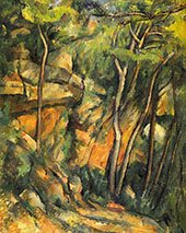 In the Park of the Chateau Noir 1900 By Paul Cezanne