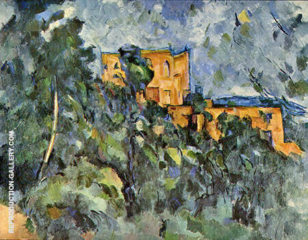 The Chateau Noir By Paul Cezanne