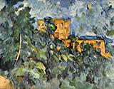 The Chateau Noir By Paul Cezanne