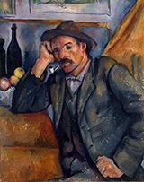 The Smoker 1895 By Paul Cezanne