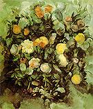 Flowers 1900 By Paul Cezanne