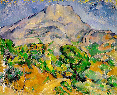 Mont Sainte Victoire 1890 By Paul Cezanne