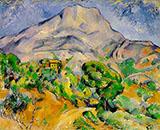 Mont Sainte Victoire 1890 By Paul Cezanne