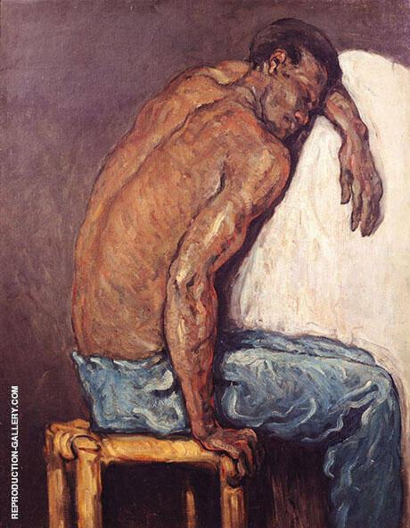 The Black Scipio 1867 By Paul Cezanne