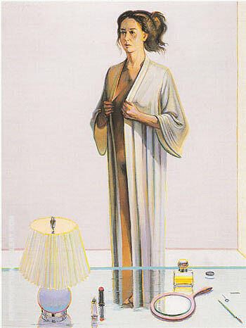 Dressing Figure Painting By Wayne Thiebaud - Reproduction Gallery