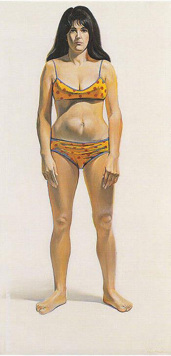 Bikini By Wayne Thiebaud