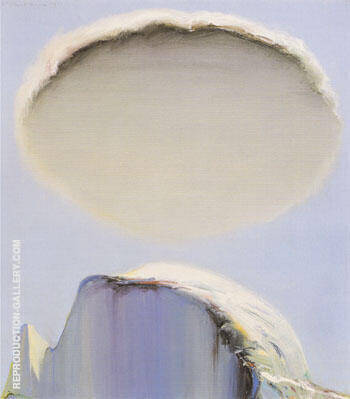 Half Dome and Cloud Painting By Wayne Thiebaud - Reproduction Gallery