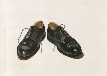 Black Shoes Painting By Wayne Thiebaud - Reproduction Gallery