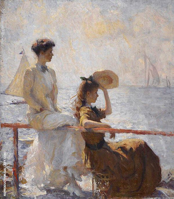 Summer Day 1911 By Frank Weston Benson