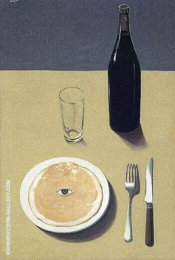 Portrait Still Life 1935 By Rene Magritte
