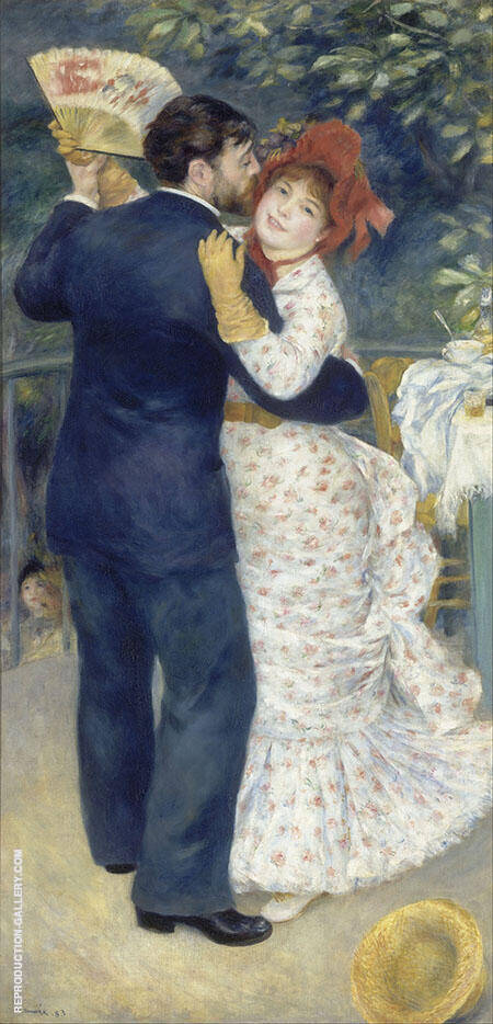 Dance in the Country 1883 By Pierre Auguste Renoir
