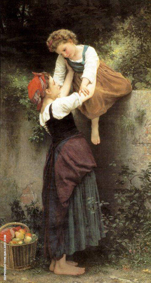 Little Marauders 1872 Painting By William-Adolphe Bouguereau