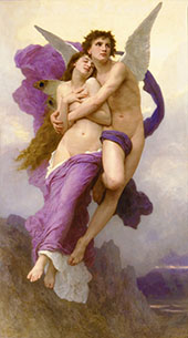 The Abduction of Psyche By William-Adolphe Bouguereau