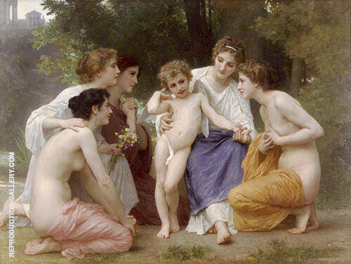 Admiration 1897 By William-Adolphe Bouguereau