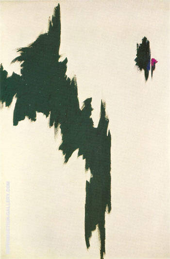 1963 A Painting By Clyfford Still - Reproduction Gallery