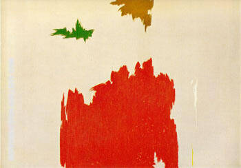 Reproduction of April 1962 by Clyfford Still | Oil Painting Replica On CanvasReproduction Gallery