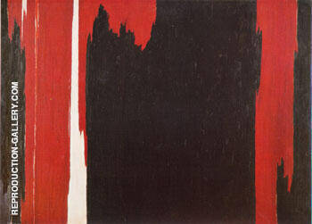 1954 Painting By Clyfford Still - Reproduction Gallery