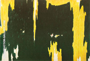 1951 NO 2 By Clyfford Still