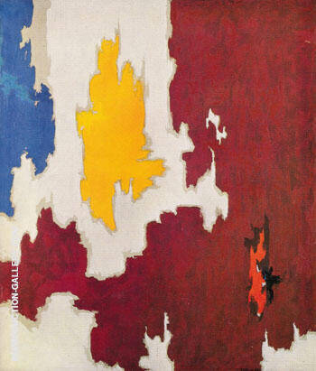 OCTOBER 1950 By Clyfford Still Replica Paintings on Canvas - Reproduction Gallery