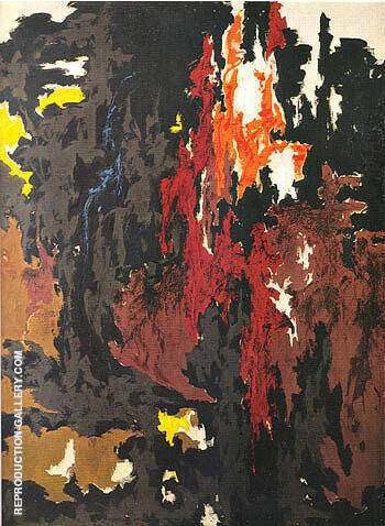 1949 M Painting By Clyfford Still - Reproduction Gallery