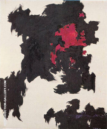 July 1948 C By Clyfford Still