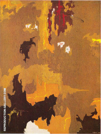 Reproduction of July 1948 by Clyfford Still | Oil Painting Replica On CanvasReproduction Gallery