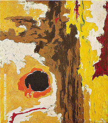 1947 8 A By Clyfford Still Replica Paintings on Canvas - Reproduction Gallery
