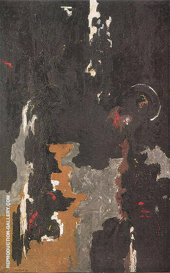 1946 N Painting By Clyfford Still - Reproduction Gallery